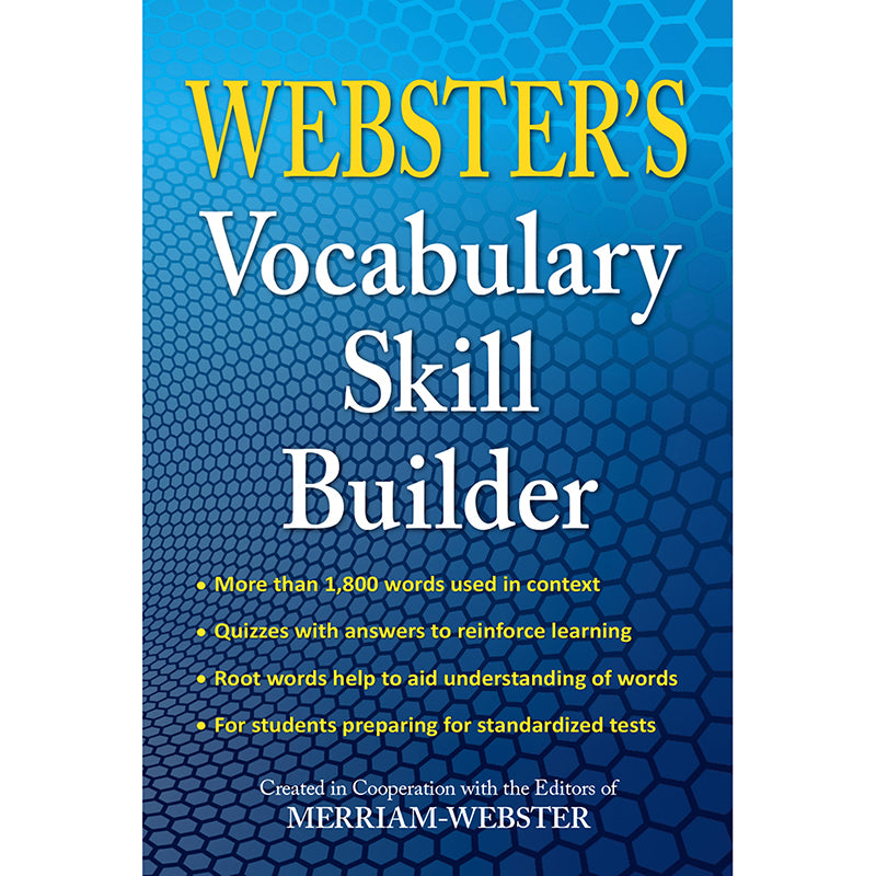 WEBSTERS VOCABULARY SKILL BUILDER