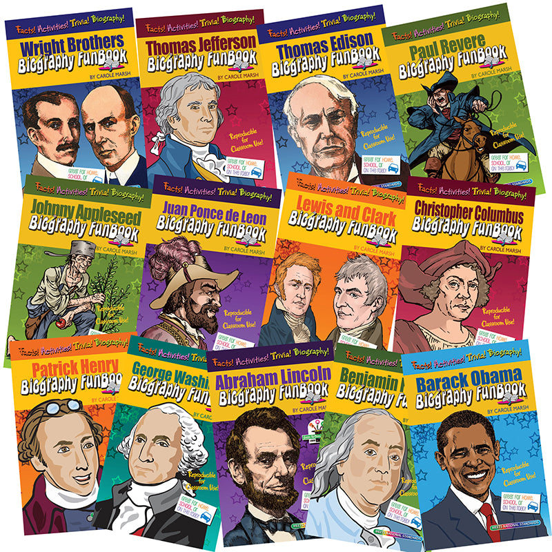BIOGRAPHY FUNBOOKS PRESIDENTS