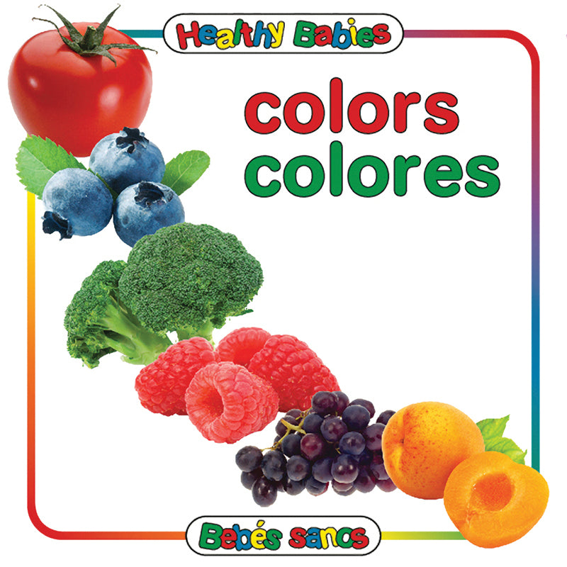COLORS BOARD BOOK BILINGUAL SPANISH