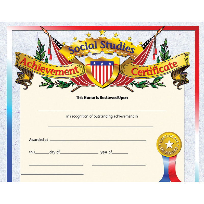 SOCIAL STUDIES ACHIEVEMENT 30PK