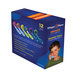 WHISPERPHONE VARIETYPAK OF 12 2 EA