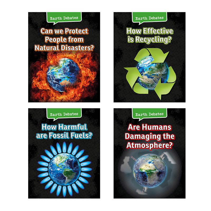 EARTH DEBATES BOOK SET OF ALL 4