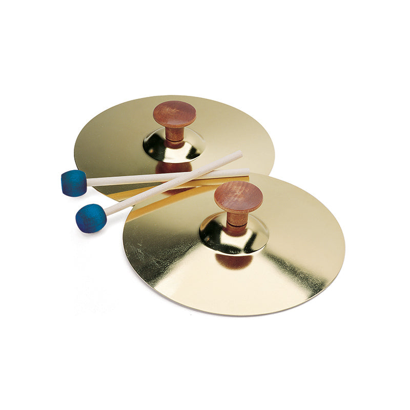 5IN CYMBALS W/MALLET PAIR