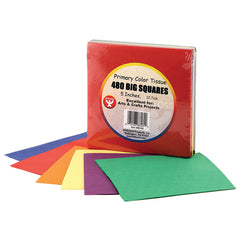 TISSUE PAPER 480CT 5IN SQUARES