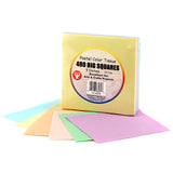 5IN TISSUE SQUARES PASTEL 480 PCS.