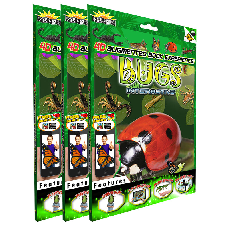 (3 EA) BUGS INTERACTIVE SMART BOOK