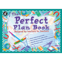 (2 EA) THE PERFECT PLAN BOOK GR K &