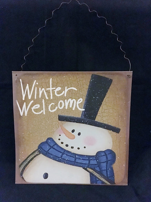 Winter Welcome Decor (Set of 4)