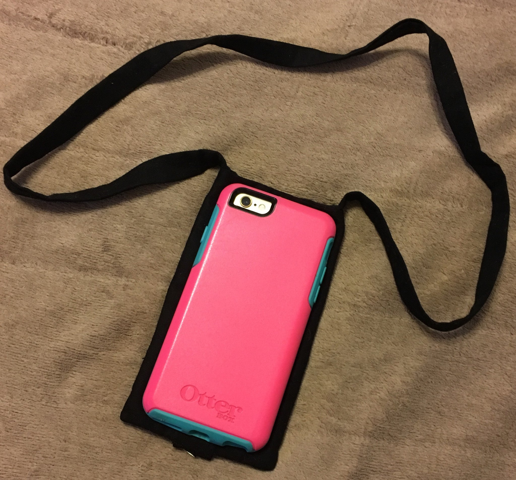 the latest 41c14 71de9 Custom Made Monogrammed Lanyard and Cell Phone Holder | Pass The Apple
