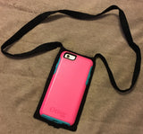 Custom Made Monogrammed Lanyard and Cell Phone Holder