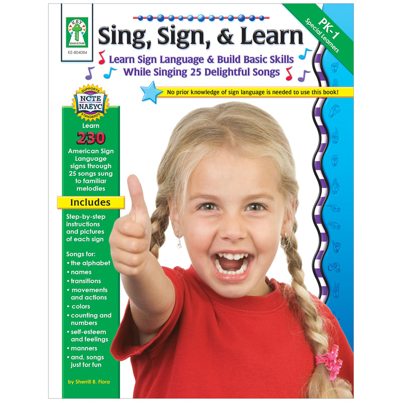 (2 EA) SING SIGN & LEARN