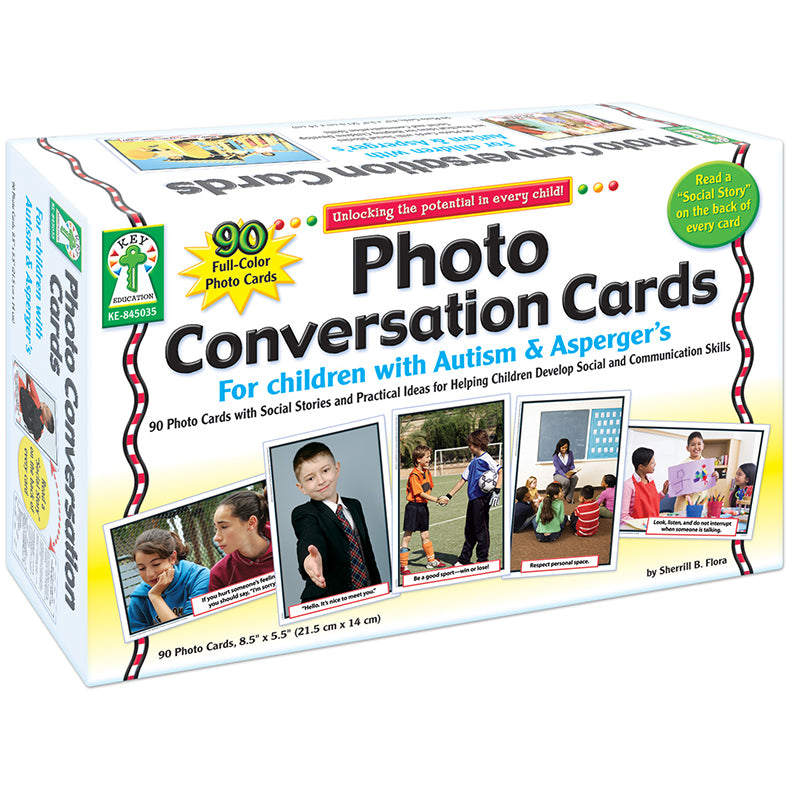 PHOTO CONVERSATION CARDS FOR