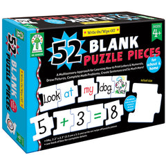 WRITE-ON/WIPE-OFF 52 BLANK PUZZLE