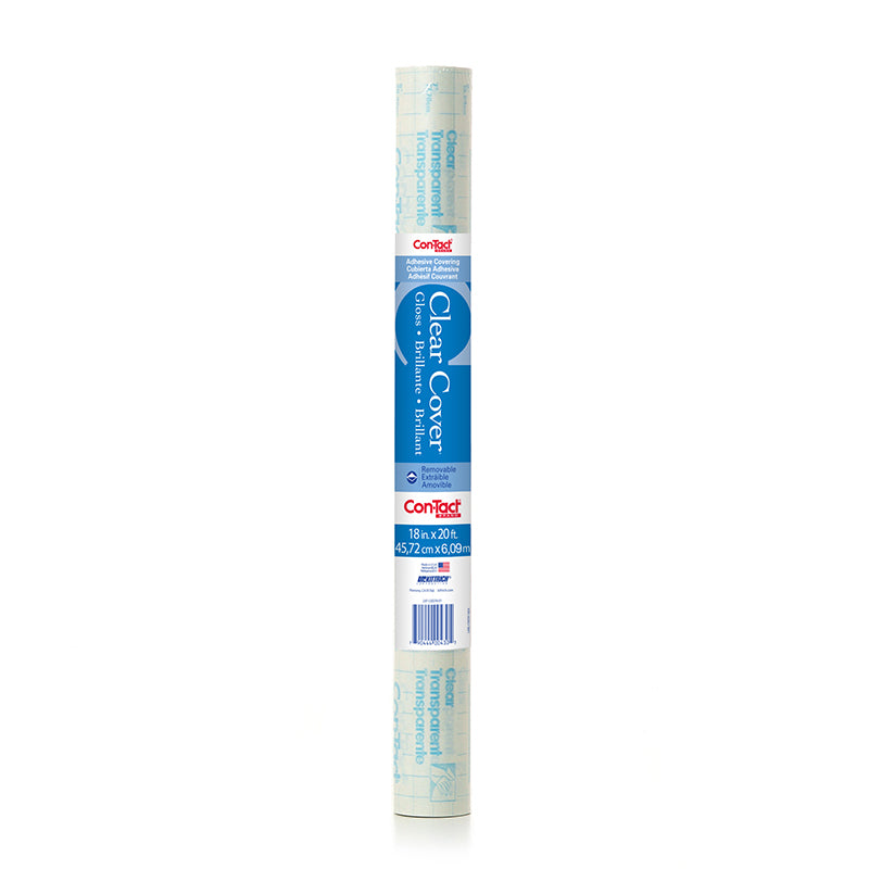 (2 RL) CONTACT ADHESIVE ROLL CLEAR
