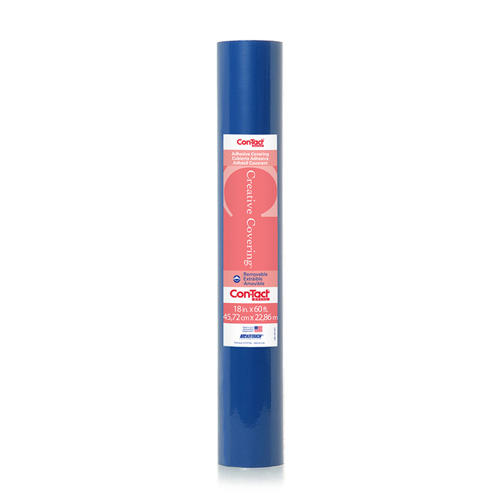 CONTACT ADHESIVE ROLL ROYAL BLUE