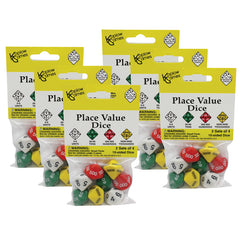 (6 ST) PLACE VALUE DICE