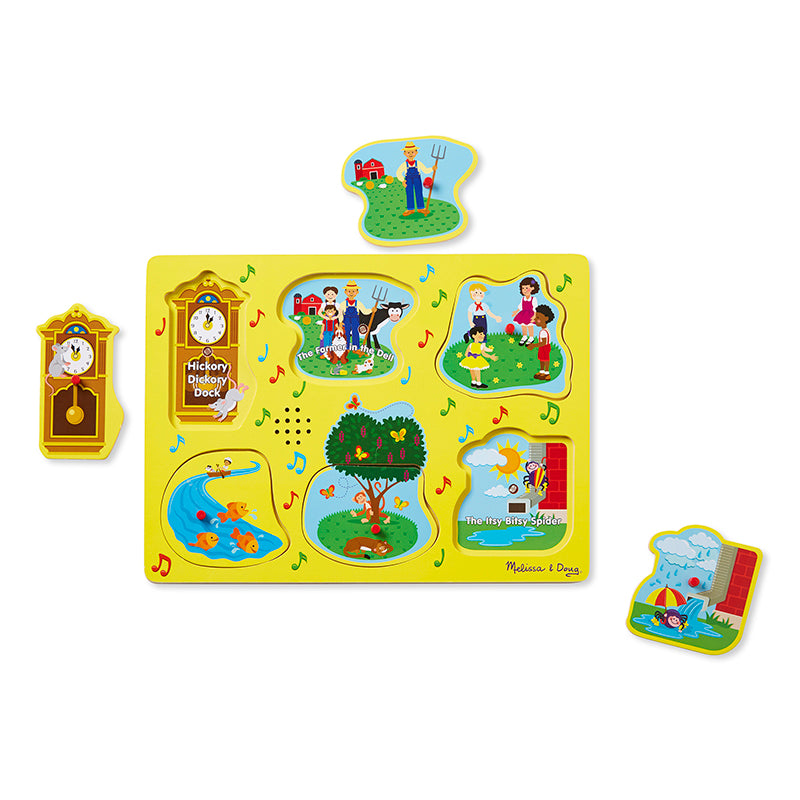 NURSERY RHYMES SOUND PUZZLE YELLOW