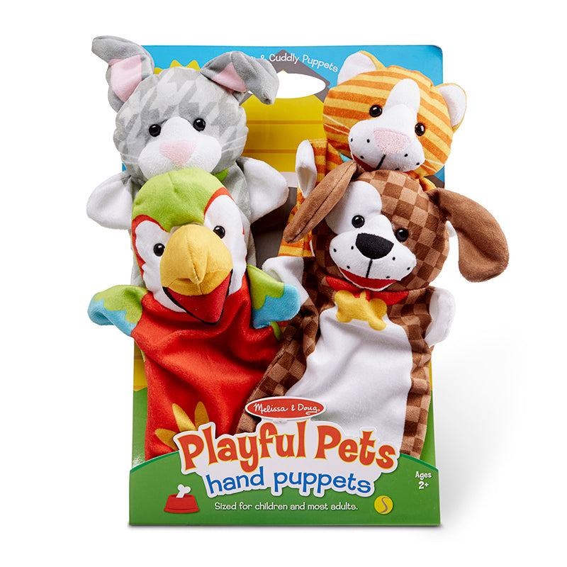 PLAYFUL PETS HAND PUPPETS