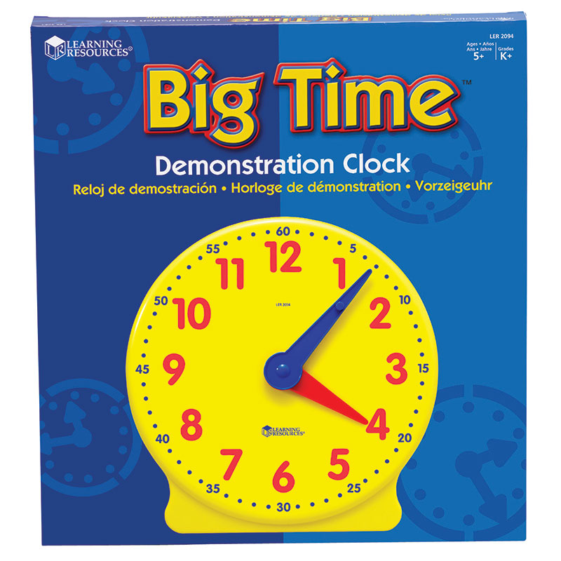 BIG TIME CLOCK DEMONSTRATION 12 HR