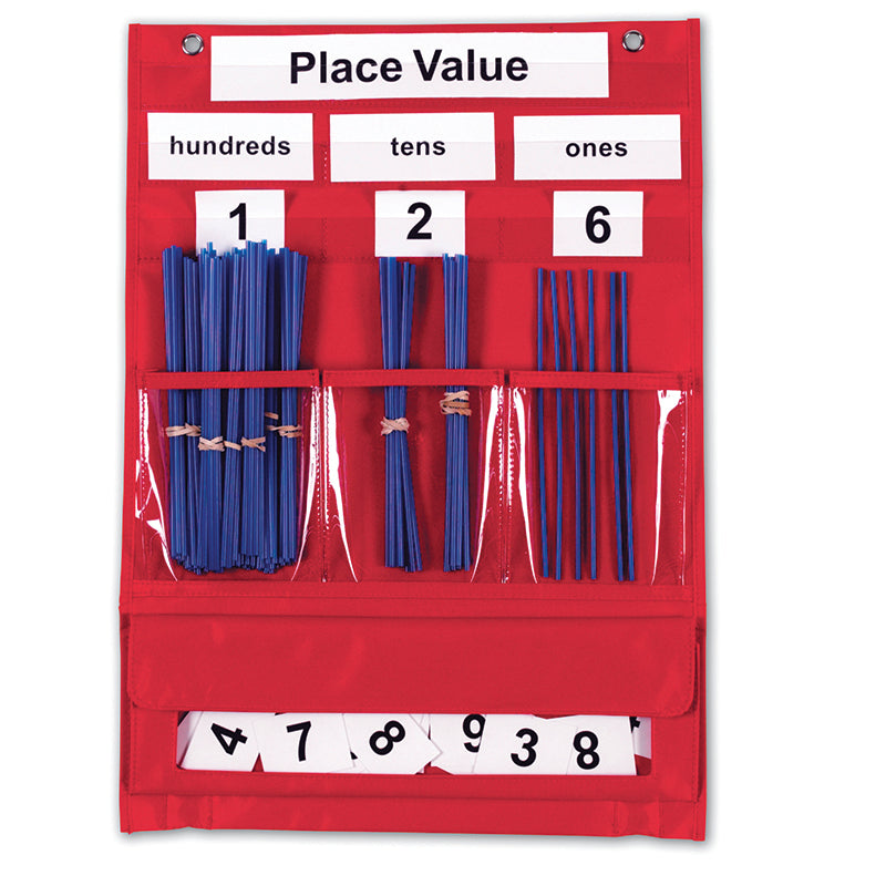 COUNTING & PLACE VALUE POCKET CHART