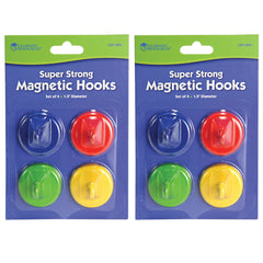 (2 EA) SUPER STRONG MAGNETIC HOOKS