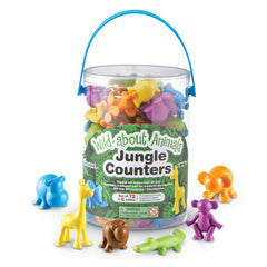 WILD ABOUT ANIMALS JUNGLE COUNTERS