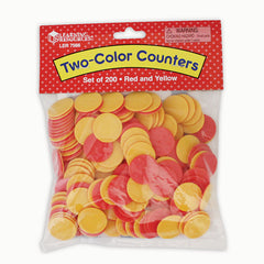 TWO COLOR COUNTERS RED AND YELLOW
