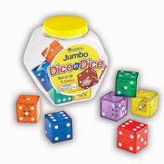 JUMBO DICE IN DICE SET OF 12