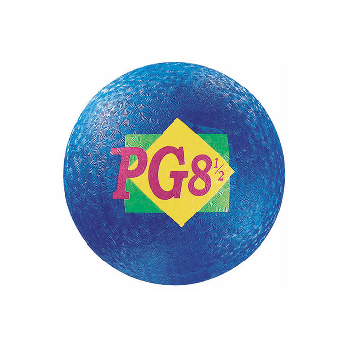 PLAYGROUND BALL 8-1/2 INCH BLUE