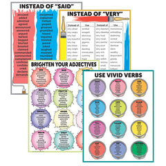 BRIGHTEN YOUR VOCABULARY POSTER SET