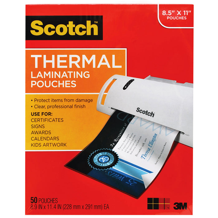 THERMAL LAMINATING POUCHES LETTER