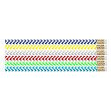 CHEVRON CHIC PENCIL PACK OF 12