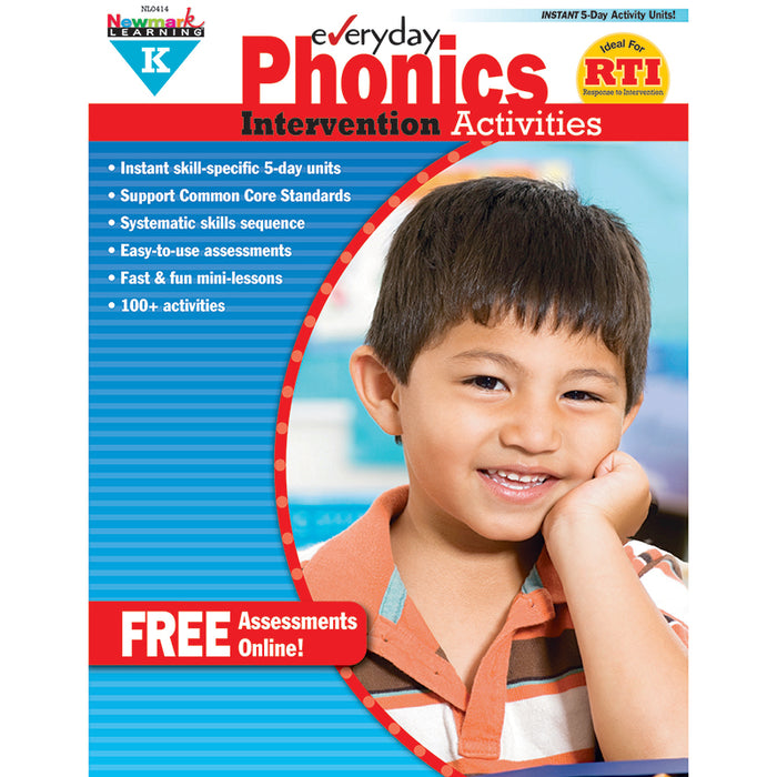 EVERYDAY PHONICS GR K INTERVENTION