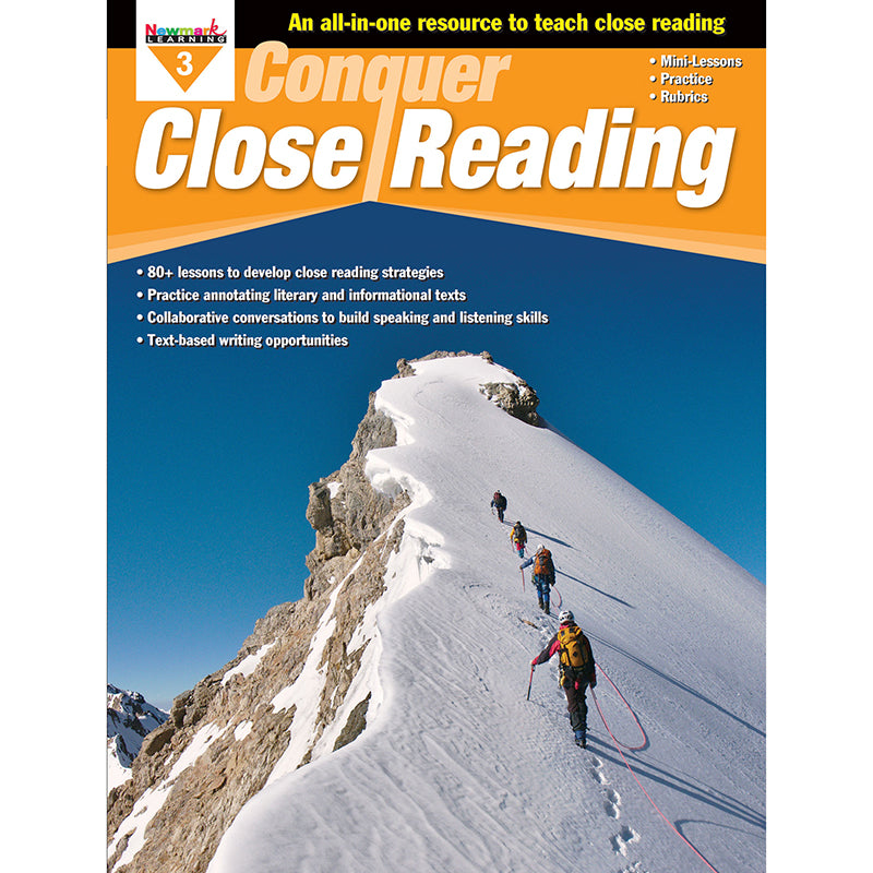 CONQUER CLOSE READING GR 3