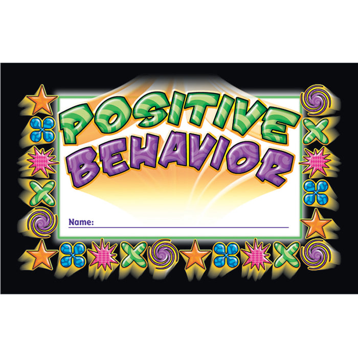 INCENTIVE PUNCH CARDS POSITIVE