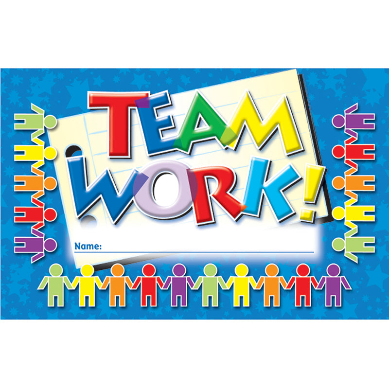 INCENTIVE PUNCH CARDS TEAMWORK
