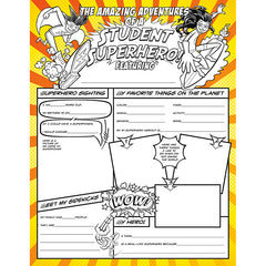 STUDENT SUPERHEROES ACTIVITY POSTER