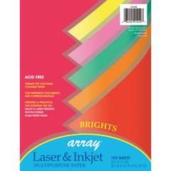 (3 PK) ARRAY BRIGHT COLOR PAPER
