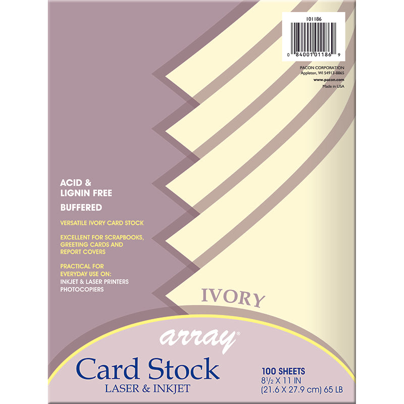 ARRAY CARD STOCK IVORY