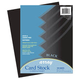 (2 PK) ARRAY CARD STOCK BLACK