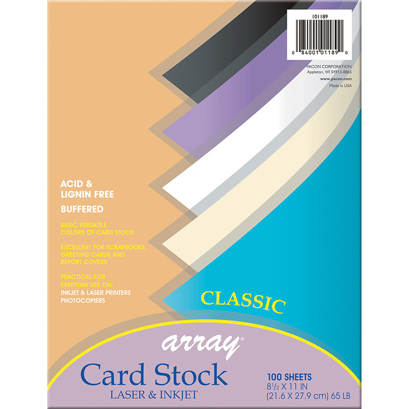 (2 PK) ARRAY CARD STOCK CLASSIC