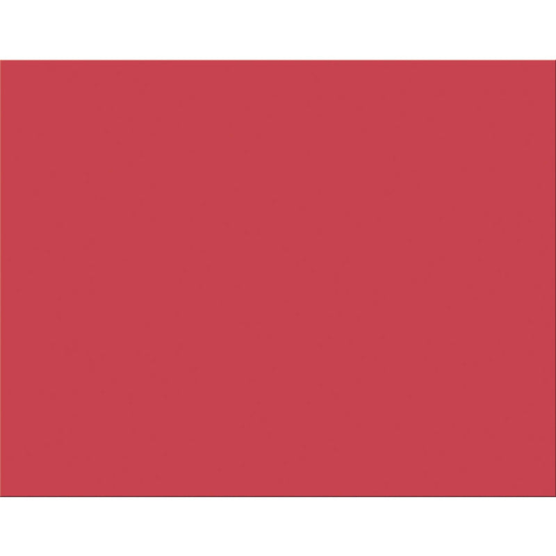 4 PLY RR POSTER BOARD 25 SHT RED
