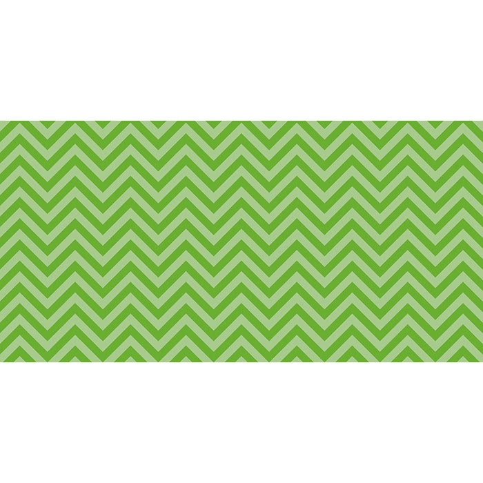 FADELESS 48X50 LIME CHEVRON DESIGN