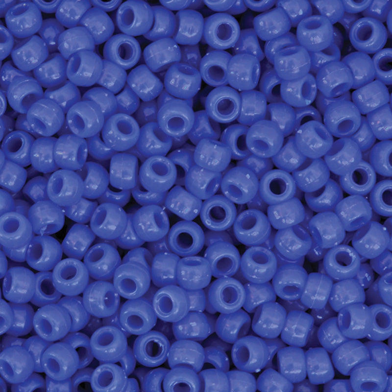 PONY BEADS BLUE 1000 PIECES
