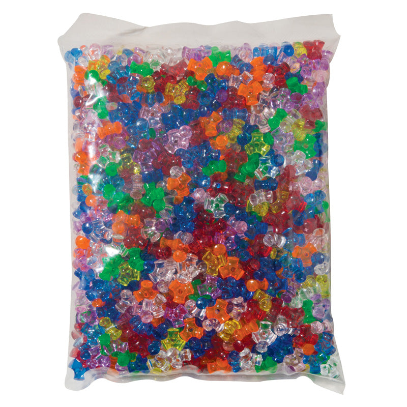 TRI BEADS ASSORTED COLORS 1000 PC