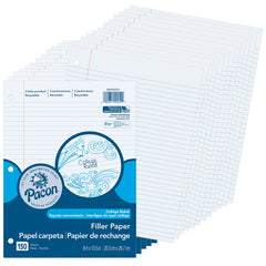 (12 PK) PACON FILLER PAPER COLLEGE