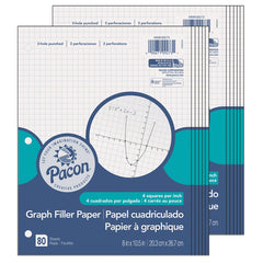 (12 EA) GRAPH PAPER 1/4IN GRID