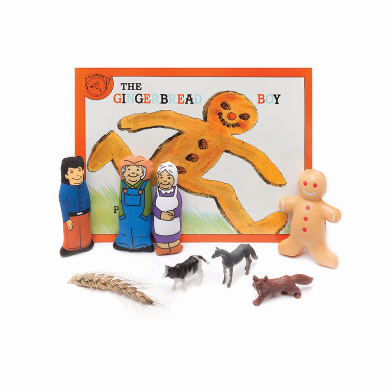 THE GINGERBREAD BOY 3D STORYBOOK