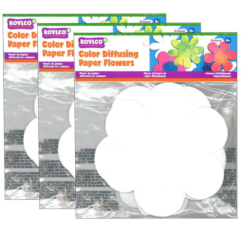 (3 PK) COLOR DIFFUSING FLOWER
