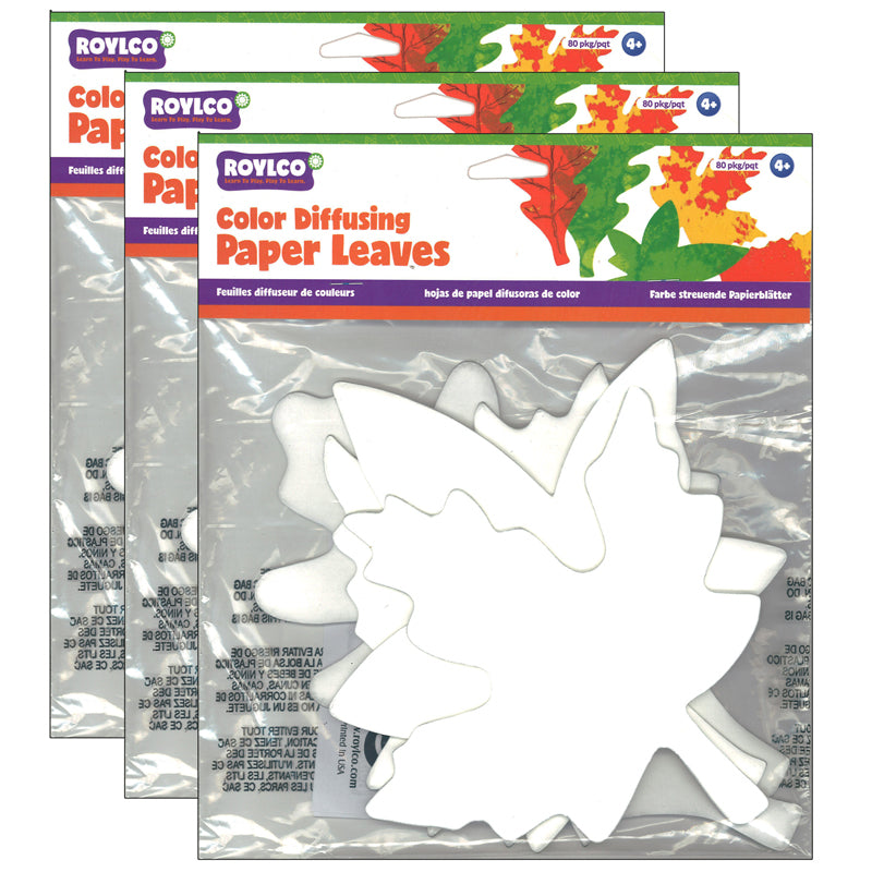 (3 PK) COLOR DIFFUSING LEAVES